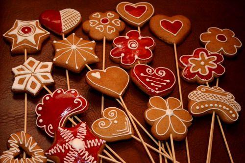 Medovníčky - vianočná kytica