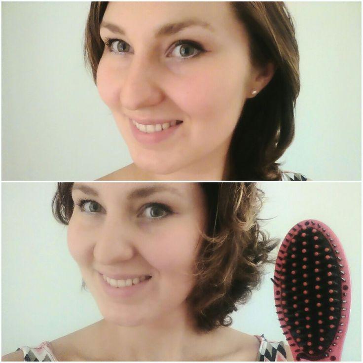 👩 HAIR 👩 VLASY 👩 Už jste zkoušeli nový kartáč na žehlení vlasů? Je naprosto úžasný❣  #kartac #vlasy #hair #kudrliny #curly #zmena #czechslovakphotogirl #czech #photogirl #photo #girl