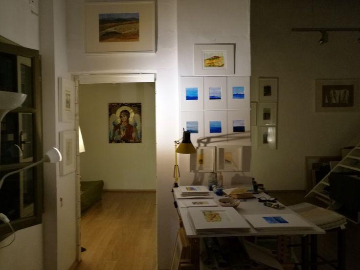 Atelier of Nikolaos A. HOUTOS, Sifnos island, Cyclades