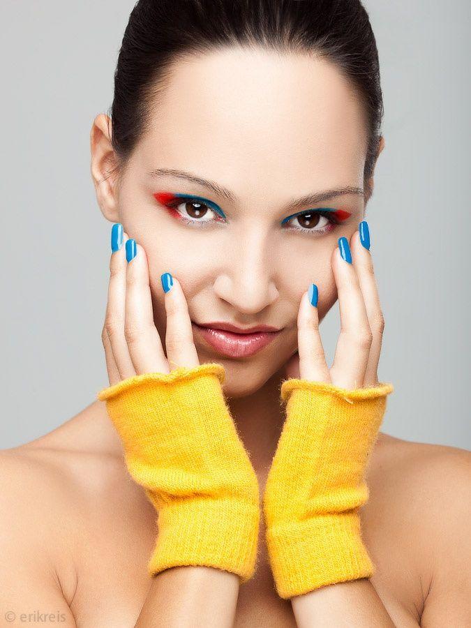 Extreme makeover - Work for a make-up portfolio