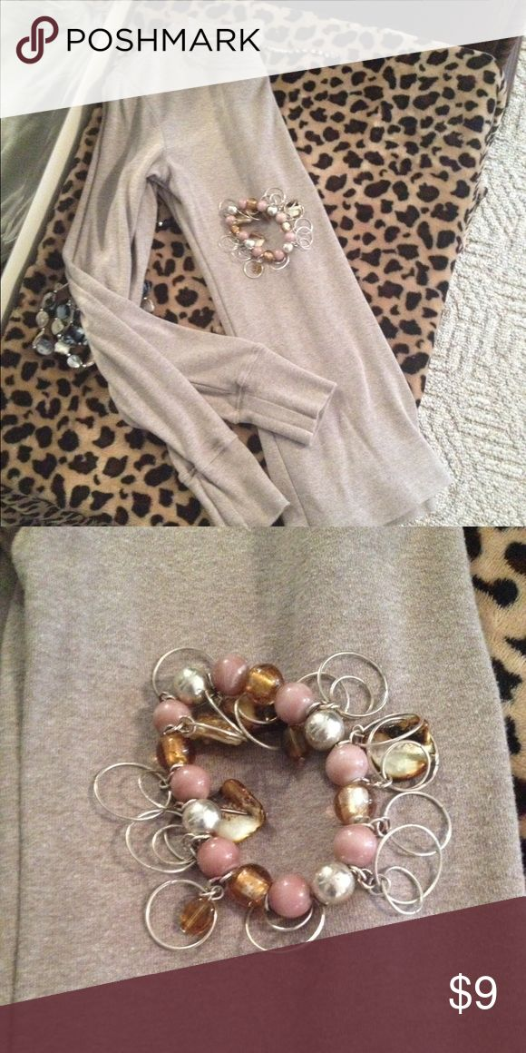 Light brown long sleeve top Gap long sleeve top size x small excellent condition!! GAP Tops Tees - Long Sleeve