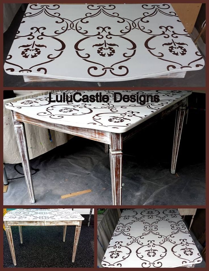 1000+ Images About Stenciled & Painted Furniture On