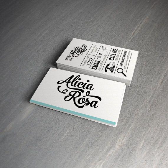 Diseño de tarjetas personalizadas por ThrillingDesigns en Etsy                                                                                                                                                                                 Más