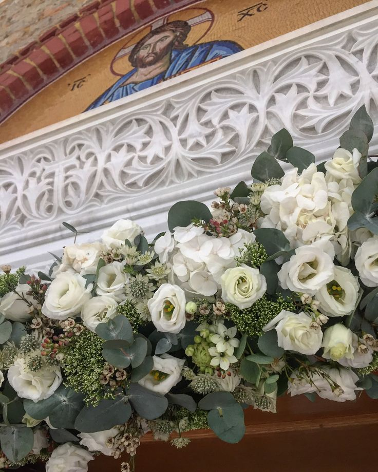 Wedding flowers Fleurs Trikala