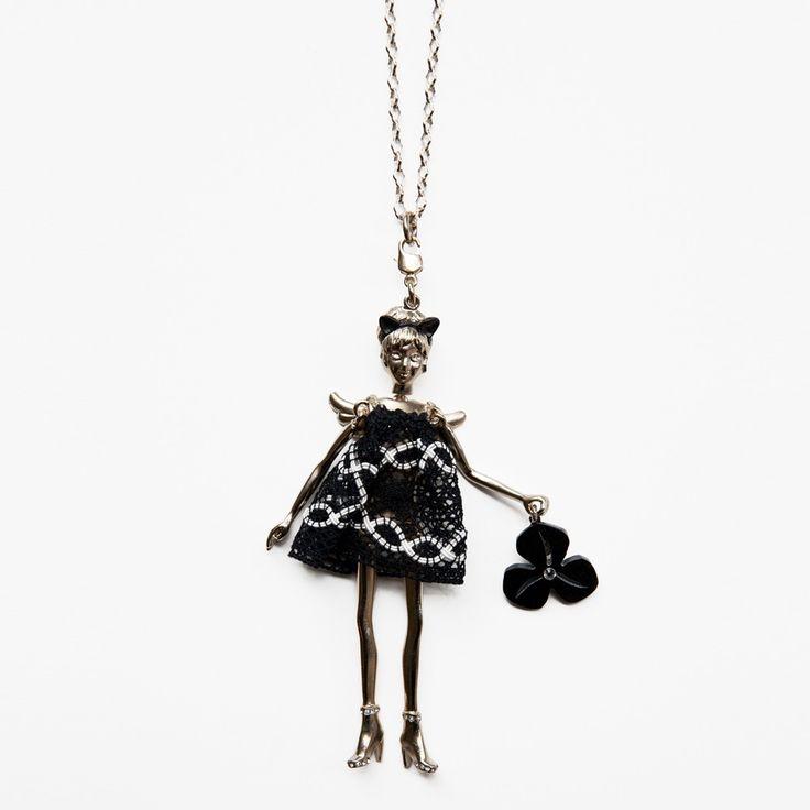 Servane Gaxotte Large Grey Gold Doll :: Bird Boutique :: shopbirdboutique.com