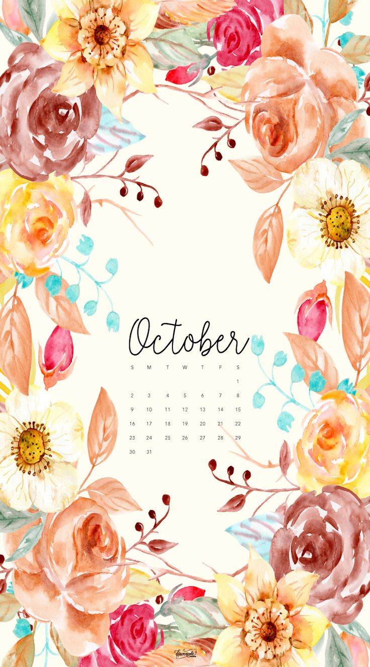 Iphone wallpaper tumblr fall - October 2016 Phone Dawnnicoledesigns Jpg 740 1334 October Wallpapercalendar Wallpapercalendar Designiphone
