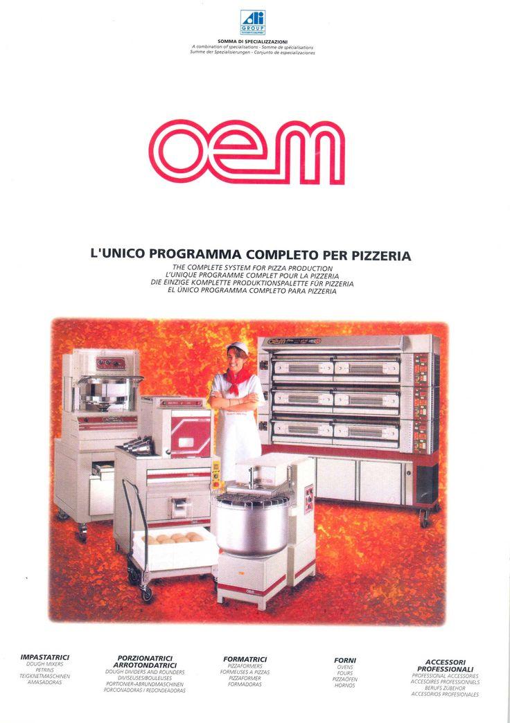 OEM - Pizza System PA2 www.oemali.com