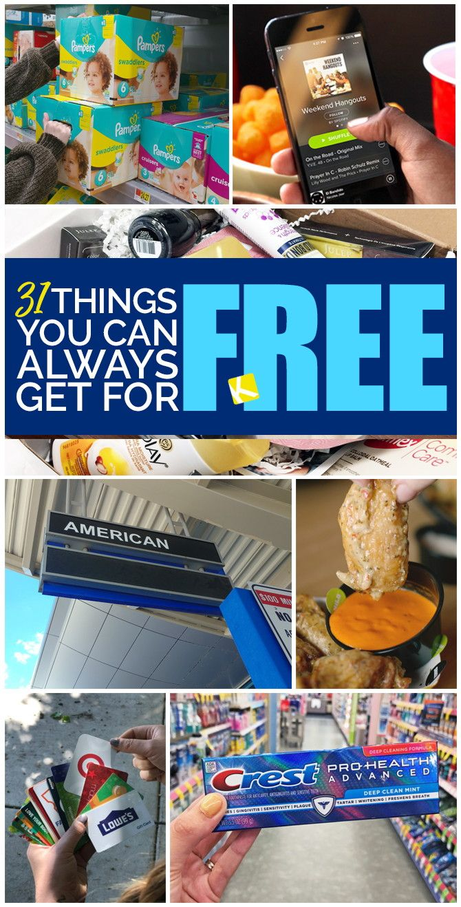 31 Things You Can Always Get for Free