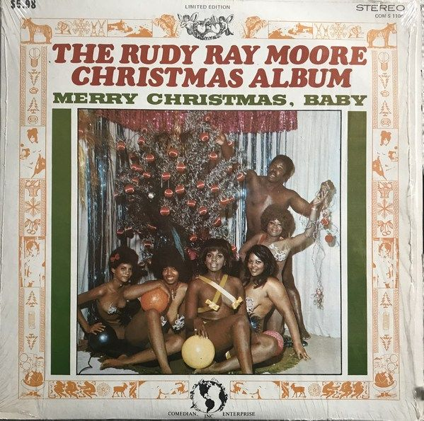 Rudy Ray Moore ‎ The Rudy Ray Moore Christmas Album