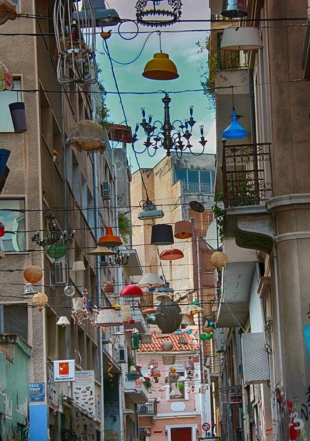 Pittaki street / Psiri, Athens
