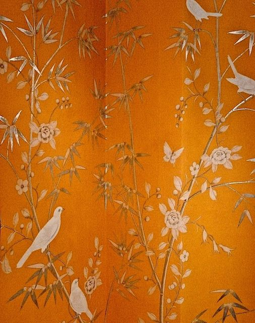 Chinoiserie Chic: Orange & Chinoiserie