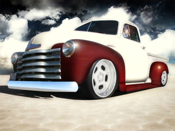 30 amazing photo art about old trucks