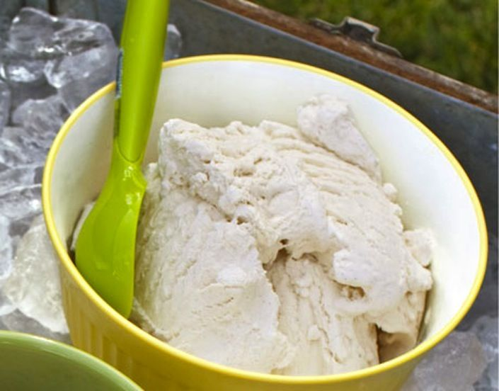 Family Friendly Fridays ~ Homemade Organic Ice Cream Made Out Of A Baggie In Only 10 Minutes!