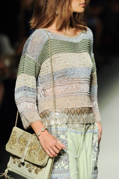 Etro at Milan Fashion Week Spring 2014 - Details Runway Photos
