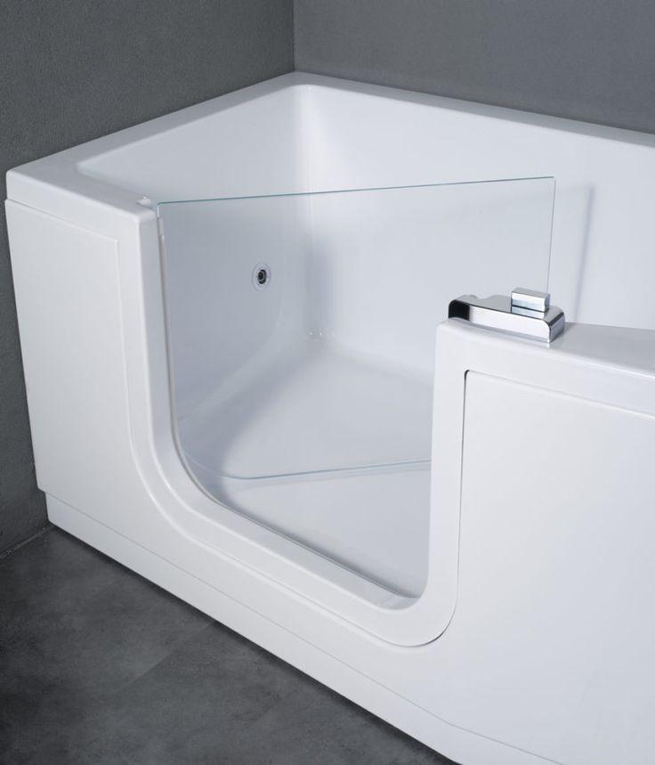 les 20 meilleures images du tableau baignoire porte vallon sur pinterest baignoires portes. Black Bedroom Furniture Sets. Home Design Ideas