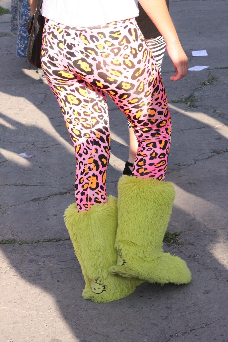 Botas verdes