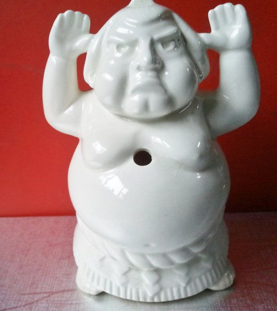 Vintage Benihana of Tokyo Sumo Wrestler Tiki by PenelainAntiques, $29.00