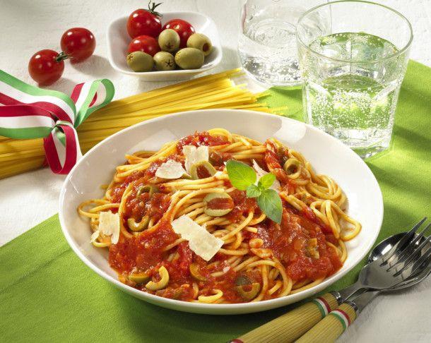 Spaghetti all Arrabiata Rezept | LECKER