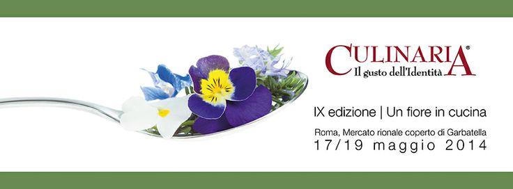 17/19 Maggio 2014 Culinaria Un fiore in cucina