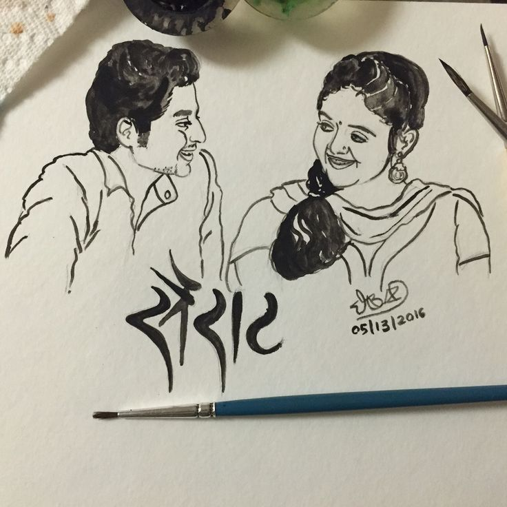#sairat is one of those few movies which stays with you even after leaving the cinema hall. My friends, if you haven't already watched, do watch it! Lately, there have been so many good #Marathi films. I am sure golden days of Marathi cinema are back  #watercolour #illustration #art #sketch #nagrajmanjule #fanart #miheika #rinkurajguru #akashthosar