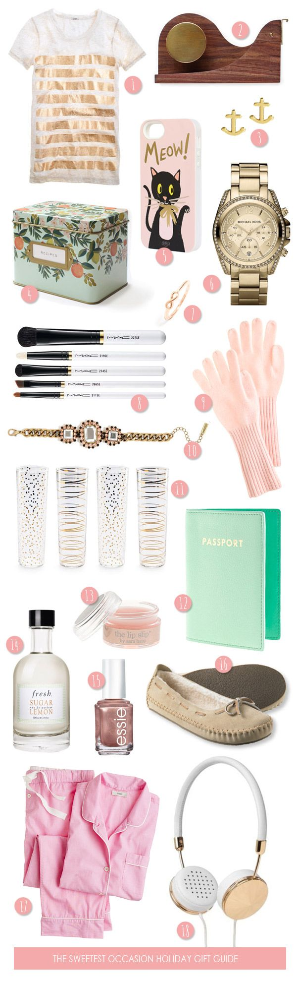 The Gift Guide: Gifts for Her - The Sweetest Occasion — The Sweetest Occasion