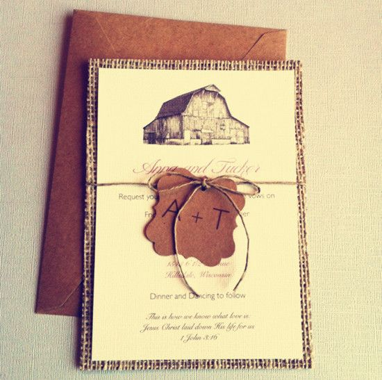 17 best ideas about barn wedding invitations on pinterest, Wedding invitations