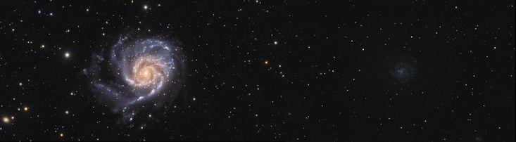 [OC] My progress in astrophotography over 4 years. Pinwheel Galaxy Messier 101