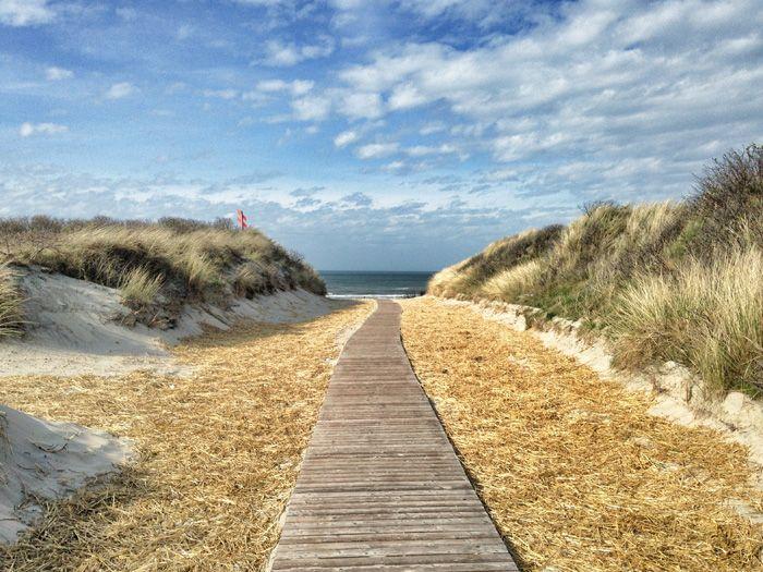 Der Weg zum Strand #Juist #Töwerland #Nordsee
