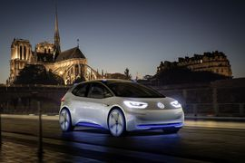 A Gigafactory of one's own: VW may build itself a battery factory     - Roadshow  Enlarge Image  The Volkswagen ID concept is one part of a very large battery-electric onslaught headed our way. Photo by                                            Volkswagen                                          Automakers are hoping that consumers will embrace electric vehicles with open arms. But what if demand far outpaces the supply of say batteries to power those cars? Volkswagen thinks it has a pretty…