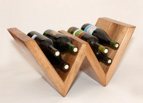 """EDITOR'S CHOICE (11/30/2012): """"W"""" is for """"wine"""" rack by flossy   View details here: http://lumberjocks.com/projects/74891"""