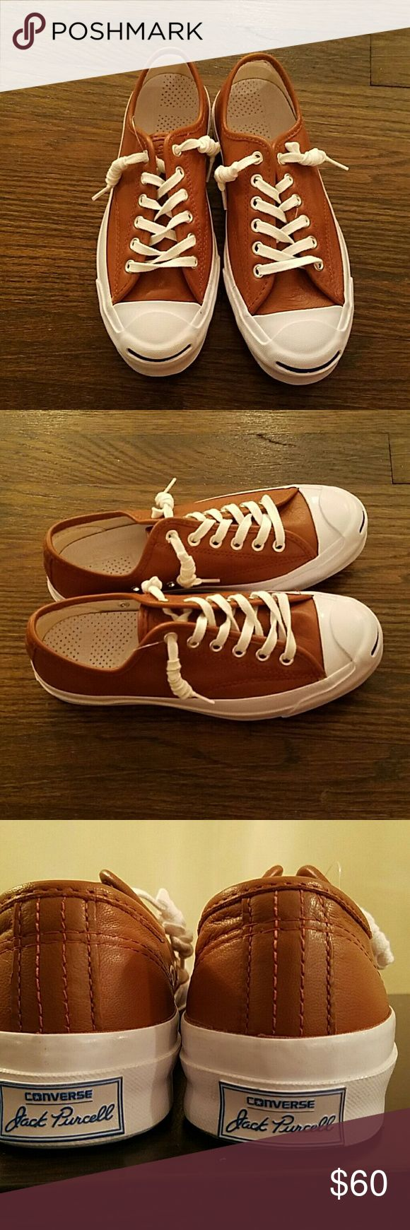 Converse Jack Purcell leather tennis Converse Shoes Sneakers