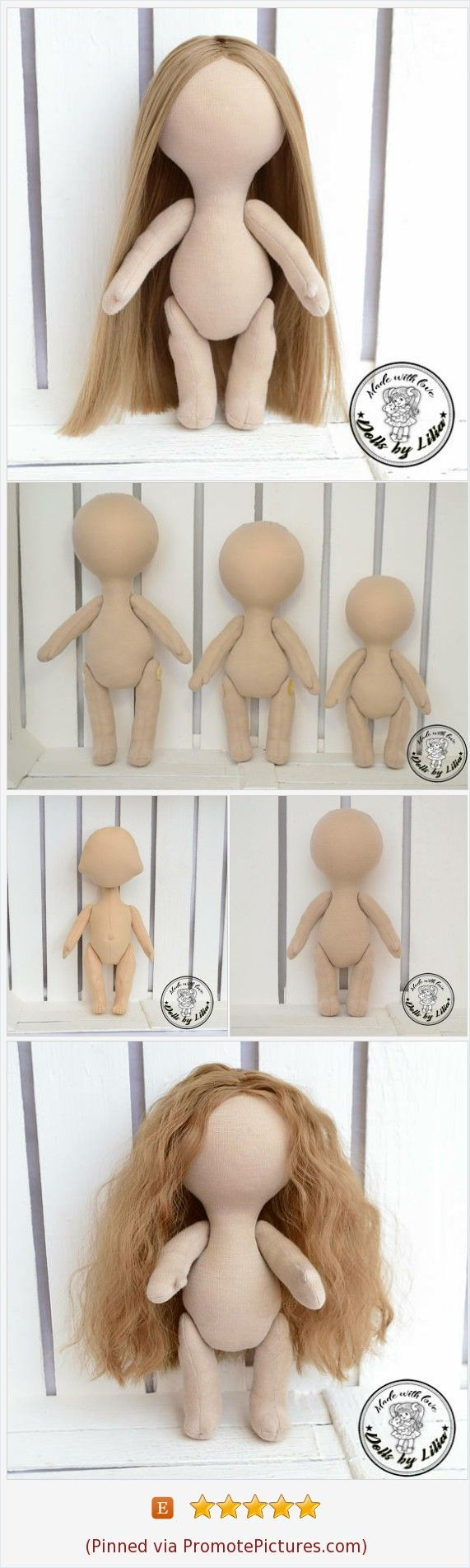 Blank doll body are ready for your interesting ideas. You can finish this doll to your taste, make a haircut, draw a face and sew clothes. https://www.etsy.com/shop/DollsbyLilia?ref=seller-platform-mcnav  (Pinned using https://PromotePictures.com)