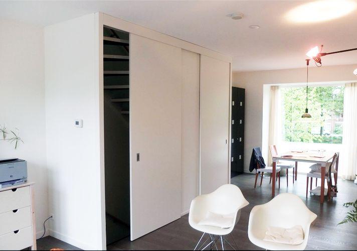 Wil je jouw open trap dichtmaken met een deur of schuifdeur? Bekijk hier de mooiste inspiratie voorbeelden van hoe je dat kunt doen!