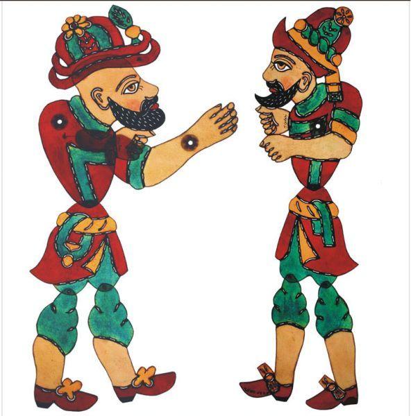 Hacivat & Karagöz osman/turkish shadow play...very funny