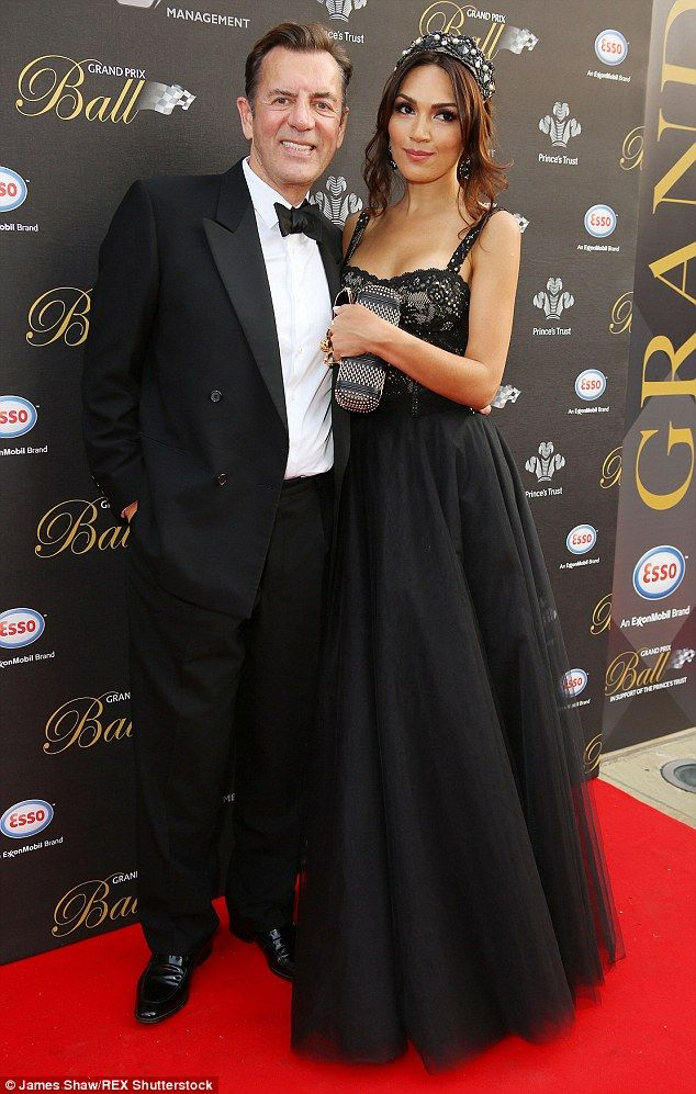 Match made in heaven? Duncan Bannatyne, 66, and his gorgeous new girlfriend Nigora Whitehorn, 35, were the picture of happiness when hit the red carpet together on Wednesday night