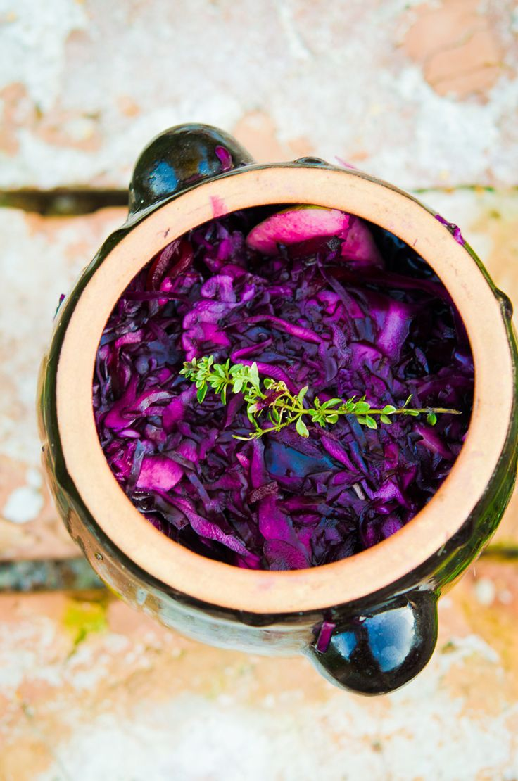 Bloody, fermented cabbage