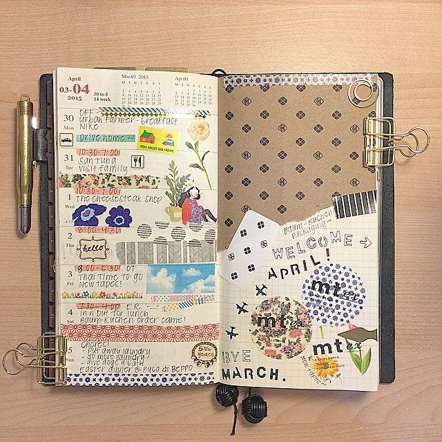 374 Best Images About Midori Notebook On Pinterest Field