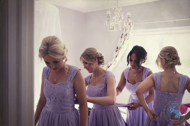 Bridesmaids all in a row #DruidsGlen  Photographed by www.studio33weddings.com #dublinweddingphotographer #studio33weddings    #alternative #modern