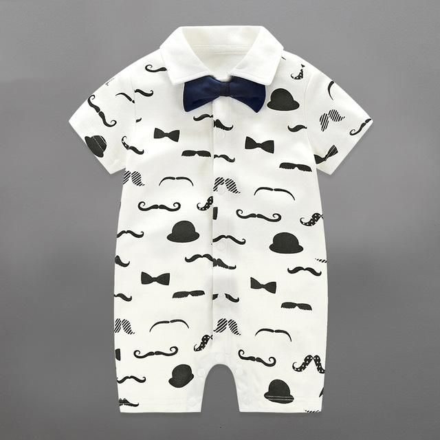 Toddler Baby Rompers Infant Jumpsuits Boy Clothing Sets Newborn Baby Clothes Spring Cotton https://presentbaby.com