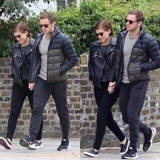 海外セレブニュース&ファッションスナップ: 【ジェイミー・ベル】ボンド役候補のひとりジェイミー、恋人ケイト・マーラとロンドンを手つなぎ散歩!