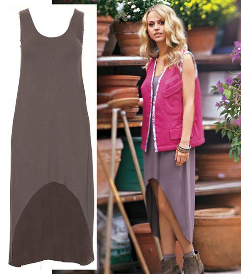 Jersey Dress  Recommended Materials  Jersey. Use only jersey fabrics with two-way stretch.    Amount of Fabrics  Stretch jersey, with: 148 cm (58 ins) Length: 1.40 m (1 5/8 yds).  Vilene Bias Tape/stay tape.