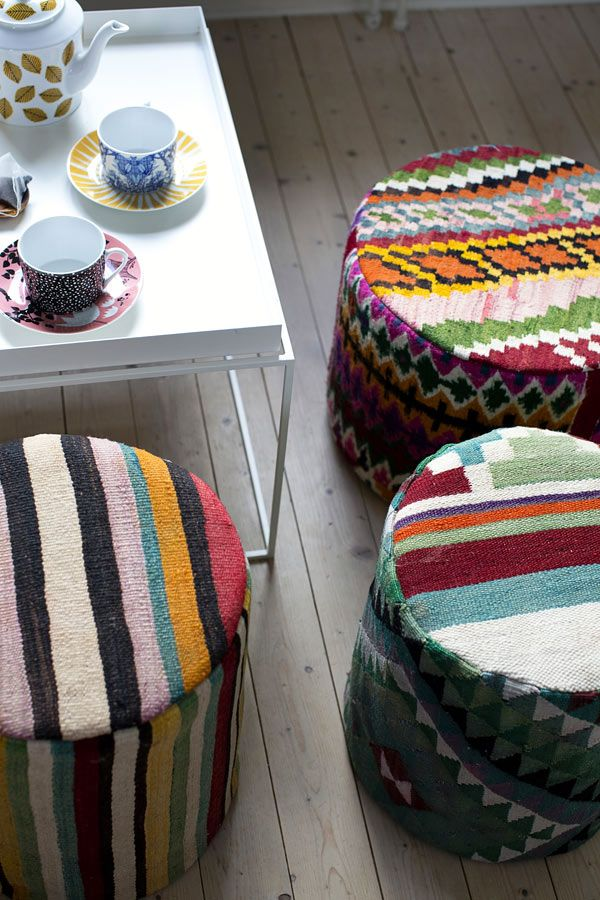 Svenskt hantverk och tunisiskt material och tradition från House of Rym. (Foto House of Rym)
