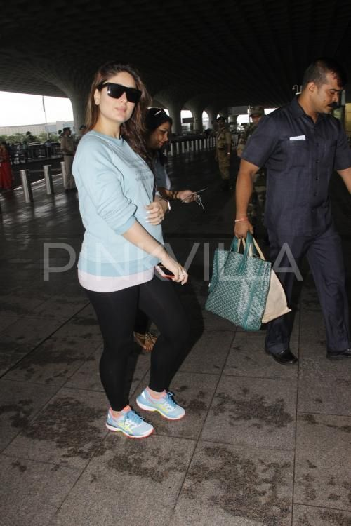 Airport Diaries: Kareena's quoted tee will make you relate to her even more! | PINKVILLA