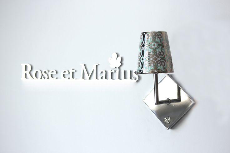 NEW! Les #luminaires d'exception #interchangeables par Rose et Marius. Avec nos timbales emblématiques inspirées des carreaux de ciment. #porcelainedeLimoges #MadeinFrance