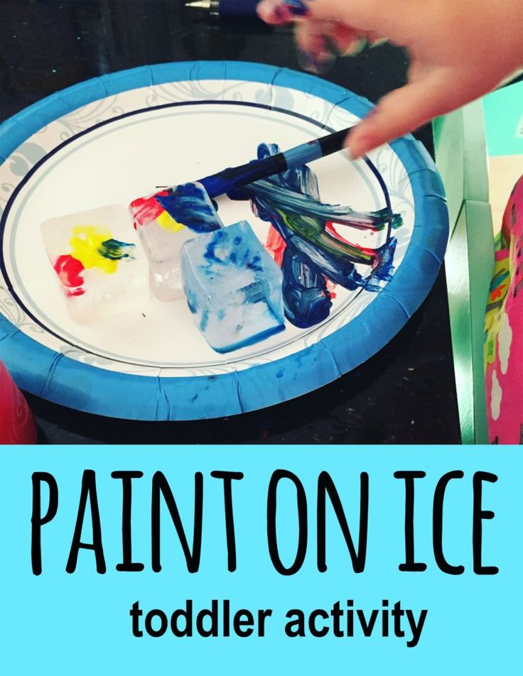 Paint on ice, activities for 18-24 month olds, list of activities for toddlers, activities for 1.5 year old, activities for one year old, activities for 18 month old, activities for 19 month old, activities for 20 month old, activities for 21 month old, activities for 22 month old, activities for 23 month old, activities for 24 month old, activities for two year old, toddler games