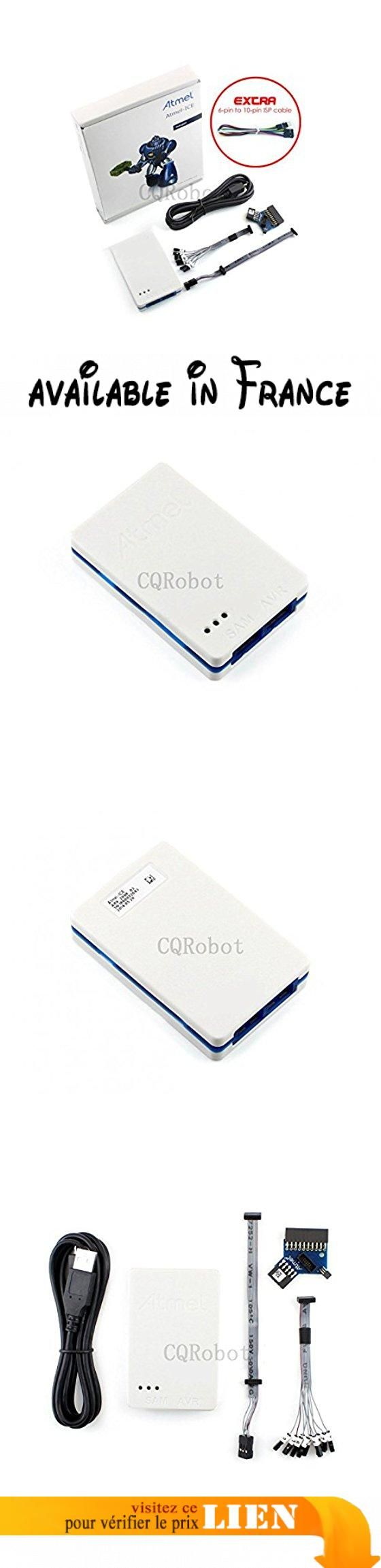 CQRobot Atmel-ICE, a Powerful Development Tool for Debugging and Programming Atmel Arm Cortex-M Based Atmel SAM and AVR Microcontrollers With On-Chip Debug Capability.. Powerful development tool for debugging and programming Atmel SAM and AVR microcontrollers.. Atmel-ICE is a powerful development tool for debugging and programming Atmel ARM? Cortex?-M based Atmel SAM and AVR? microcontrollers with on-chip debug capability.. Supports JTAG, SWD, PDI, TPI, aWire, SPI and debugWIRE
