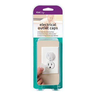 KIDCO Electrical Outlet Caps 36-Pack