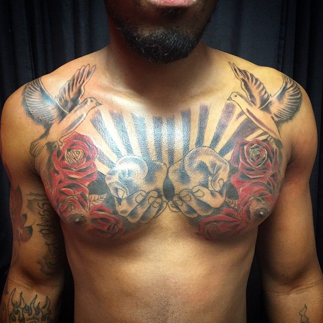 best 25 front shoulder tattoos ideas on
