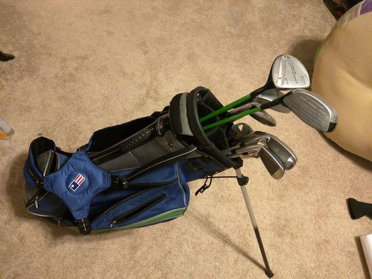 "US Kids Golf - UL57 Golf Club Set w/ 12 Clubs + Bag - USKGA for 57-60"" Junior #USAKids"