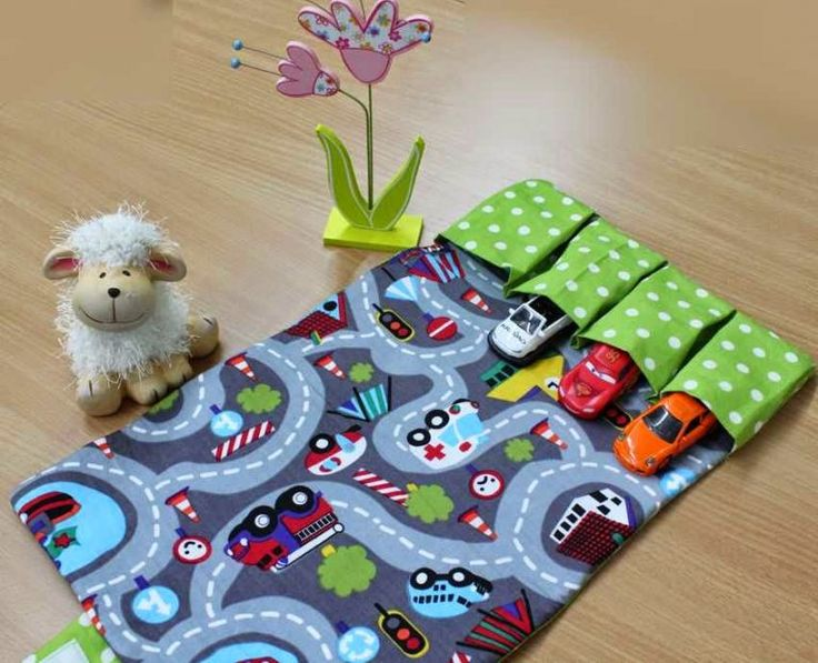 Toy Car Tote Wallet Sewing Project from Vina's Sewing Box